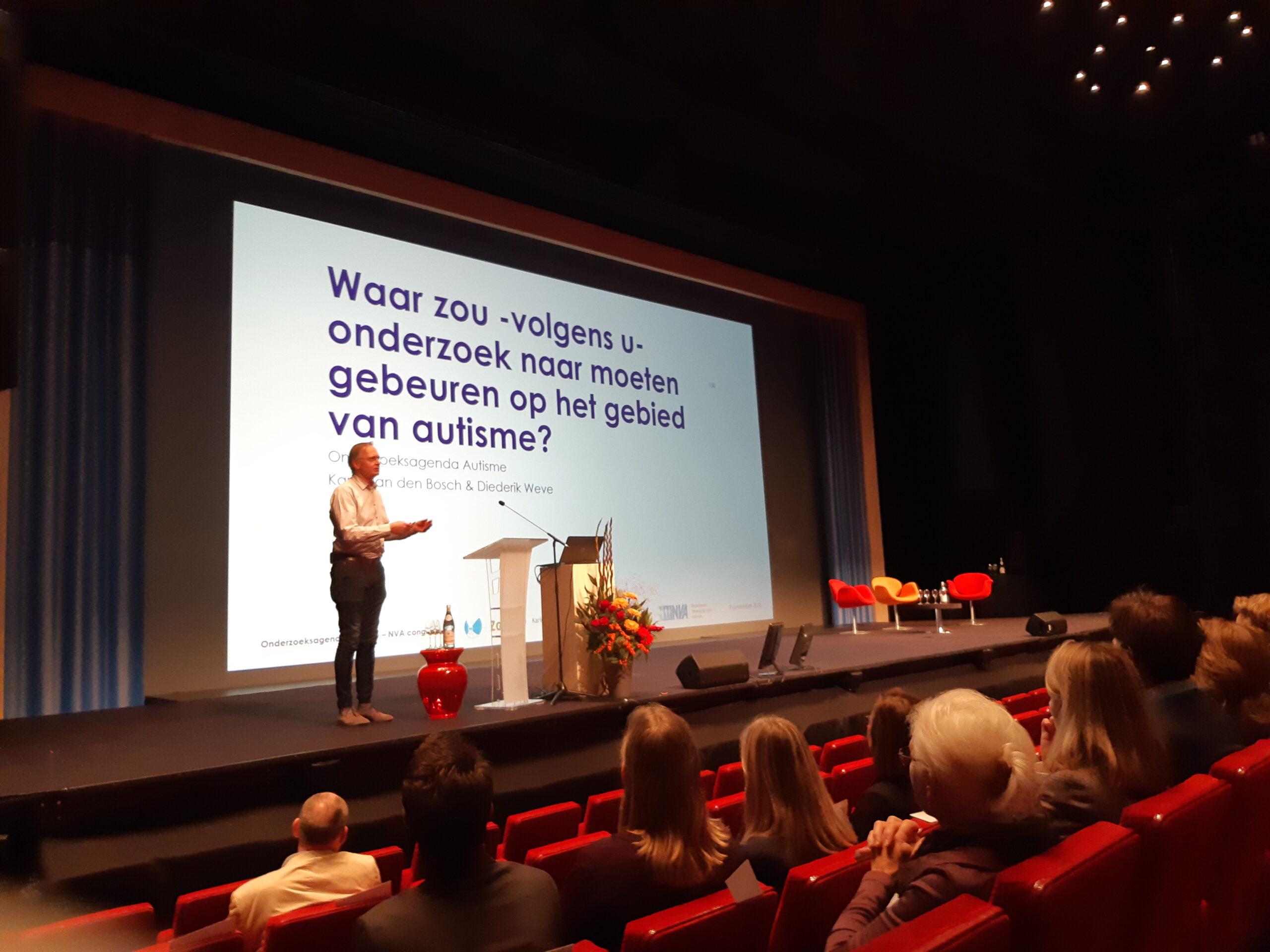 Diederik Weve presenteert over OZA op NVA congres 2018