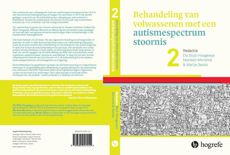Boekomslag Behandeling van volwassenen met een autismespectrumstoornis