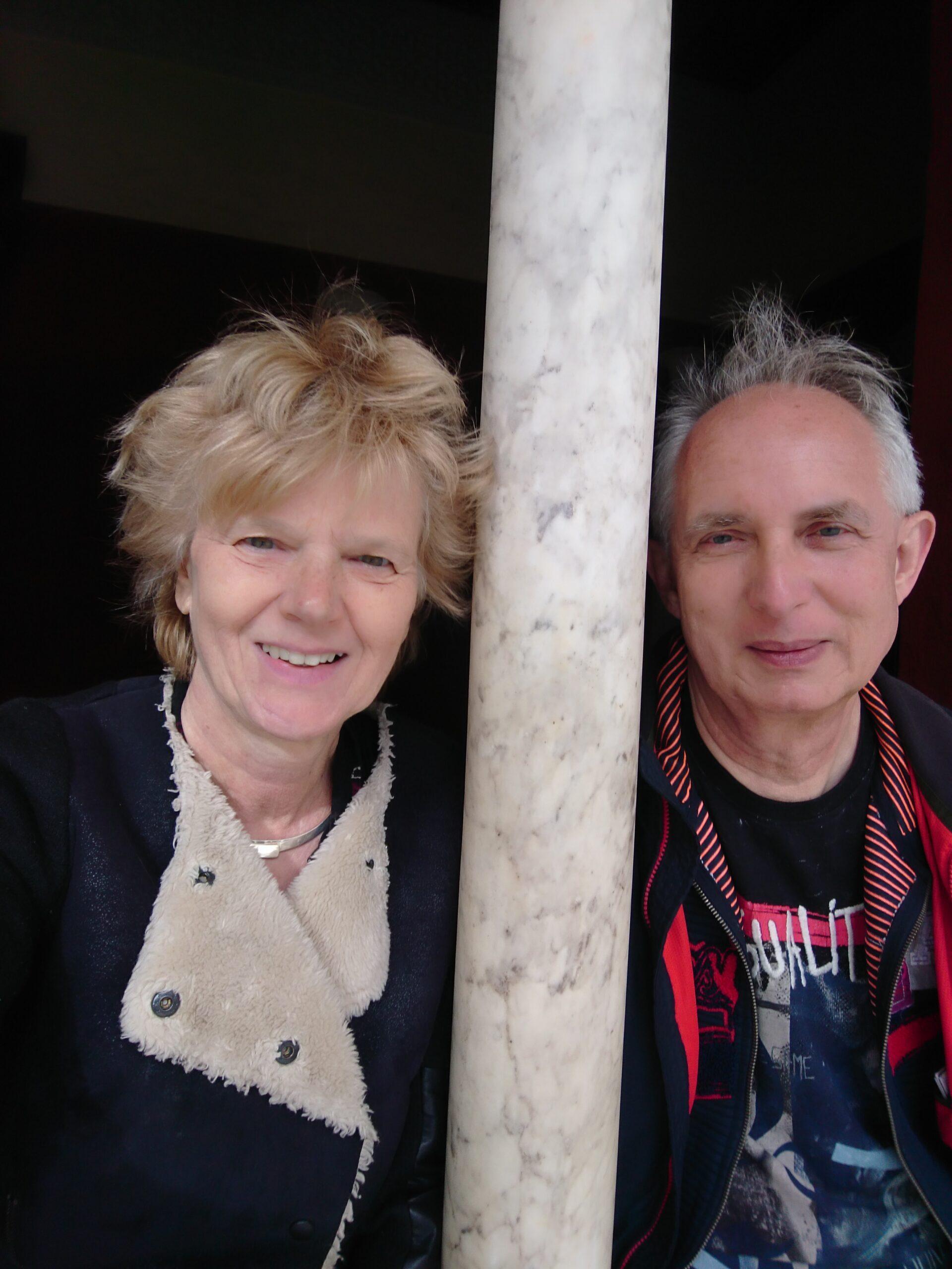 Foto van Roland Angenent en Sandra Krekel